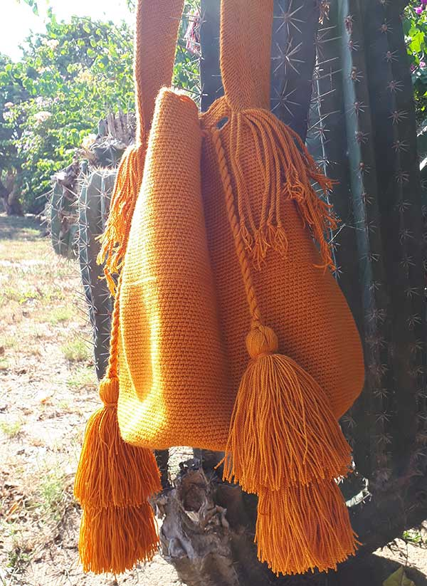 torebka worek mochila wayuu boho bag